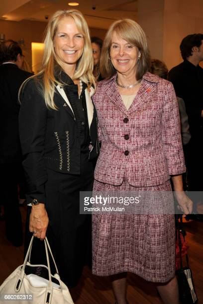 Martha De Laurentiis and Chloe O'Gara attend BVLGARI 'Save The Children' Cocktail Party at BVLGARI on June 18 2009 in New York