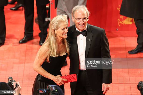 Martha De Laurentiis and guest attend the 'Nobody Wants the Night' Premiere 65th Berlinale International Film Festival on February 05 2015 in Berlin...