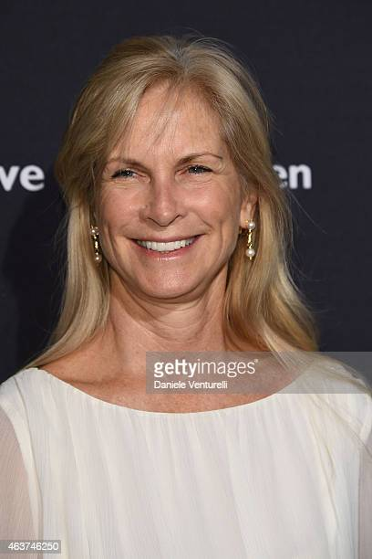 Martha De Laurentiis attends BVLGARI And Save The Children STOP THINK GIVE PreOscar Event at Spago on February 17 2015 in Beverly Hills California