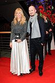 Martha De Laurentiis Darren Aronofsky attend the Closing Ceremony of the 65th Berlinale International Film Festival on February 14 2015 in Berlin...