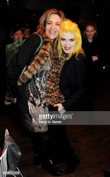 Martha Fiennes and Pam Hogg attend as Sir Terence Conran is awarded the Liberatum Cultural Honour at Sanderson Hotel on November 19 2013 in London...