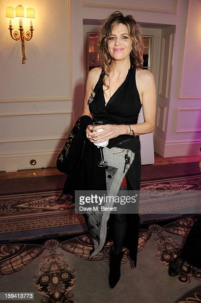 Martha Fiennes attends a gala evening celebrating Old Russian New Year's Eve in aid of the Gift Of Life Foundation at The Savoy Hotel on January 13...