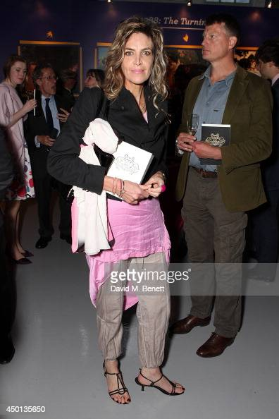 Martha Fiennes attends the Elephant Family's 'In Giants' Footsteps' launch party at Victoria House on June 5 2014 in London England
