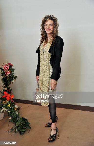 Martha Fiennes attends the Masterpiece Midsummer Party in aid of Marie Curie at The Royal Hospital Chelsea on July 2 2013 in London England