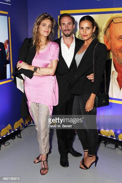 Martha Fiennes Joseph Fiennes and Maria Dolores Dieguez attend the Elephant Family's 'In Giants' Footsteps' launch party at Victoria House on June 5...