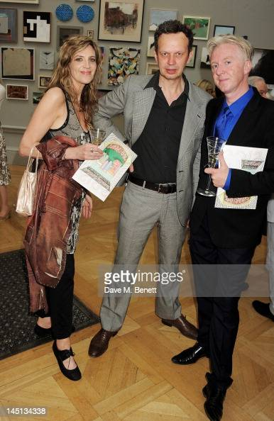 Martha Fiennes Tom Dixon and Philip Treacy attend 'A Celebration Of The Arts' at Royal Academy of Arts on May 23 2012 in London England