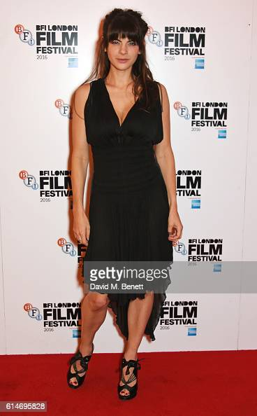 Martha Freud attends the 'Trespass Against Us' screening during the 60th BFI London Film Festival at Vue West End on October 14 2016 in London England