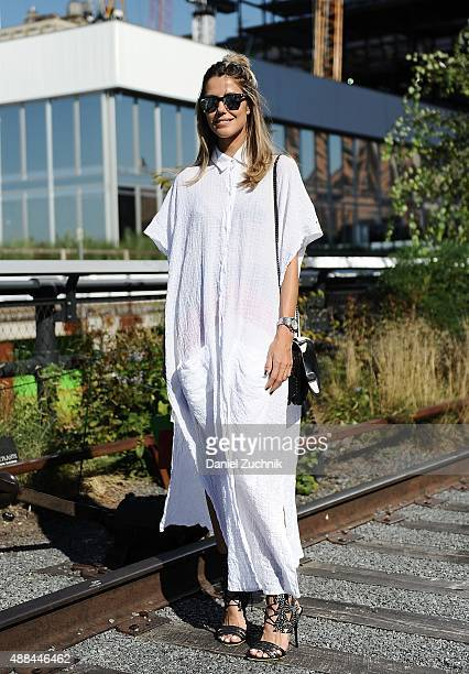 Martha Graeff is seen outside the Coach show during New York Fashion Week 2016 on September 15 2015 in New York City