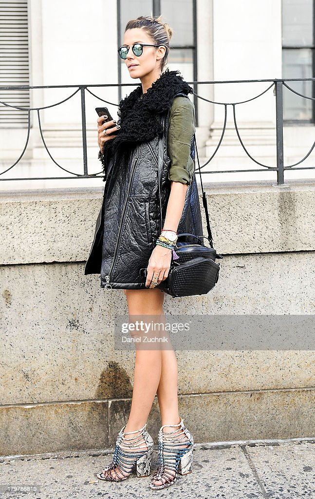 Martha Graeff is seen outside the Rag and Bone show on September 6, 2013 in New York City.