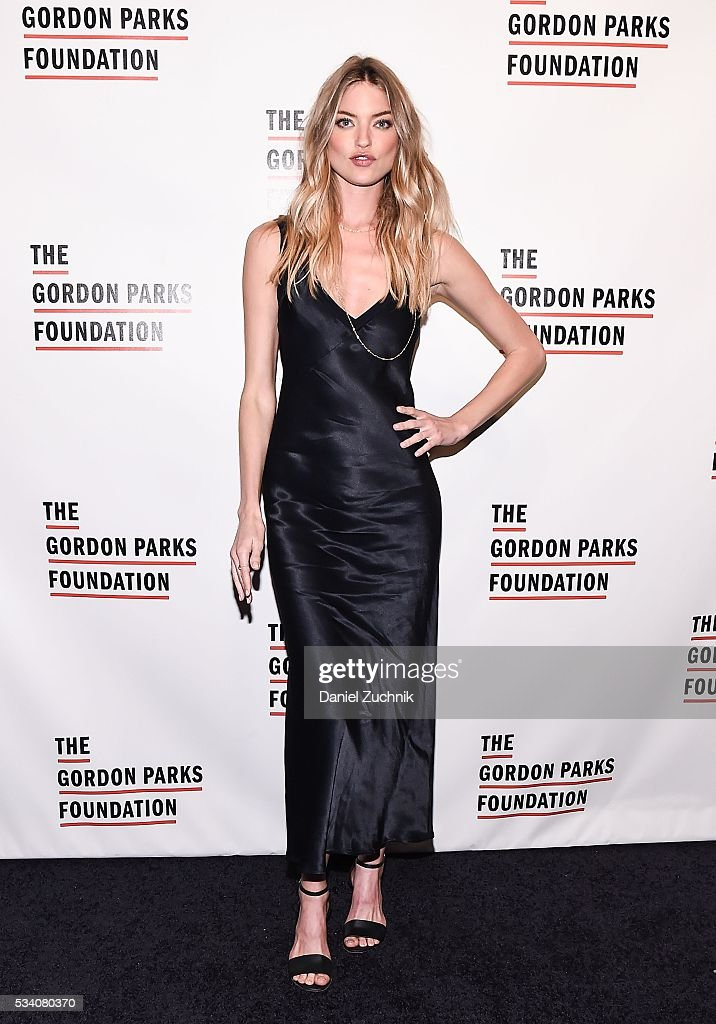 Martha Hunt attends the 2016 Gordon Parks Foundation Awards Dinner at Cipriani 42nd Street on May 24 2016 in New York City