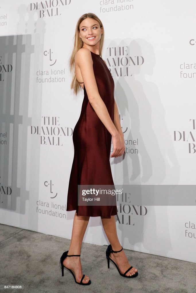 Martha Hunt attends the 3rd Annual Diamond Ball at Cipriani Wall Street on September 14, 2017 in New York City.