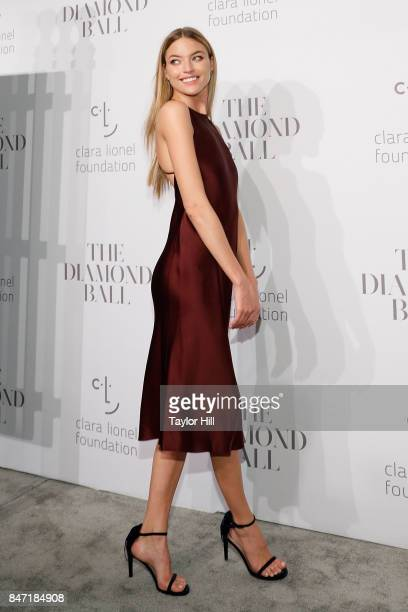 Martha Hunt attends the 3rd Annual Diamond Ball at Cipriani Wall Street on September 14 2017 in New York City