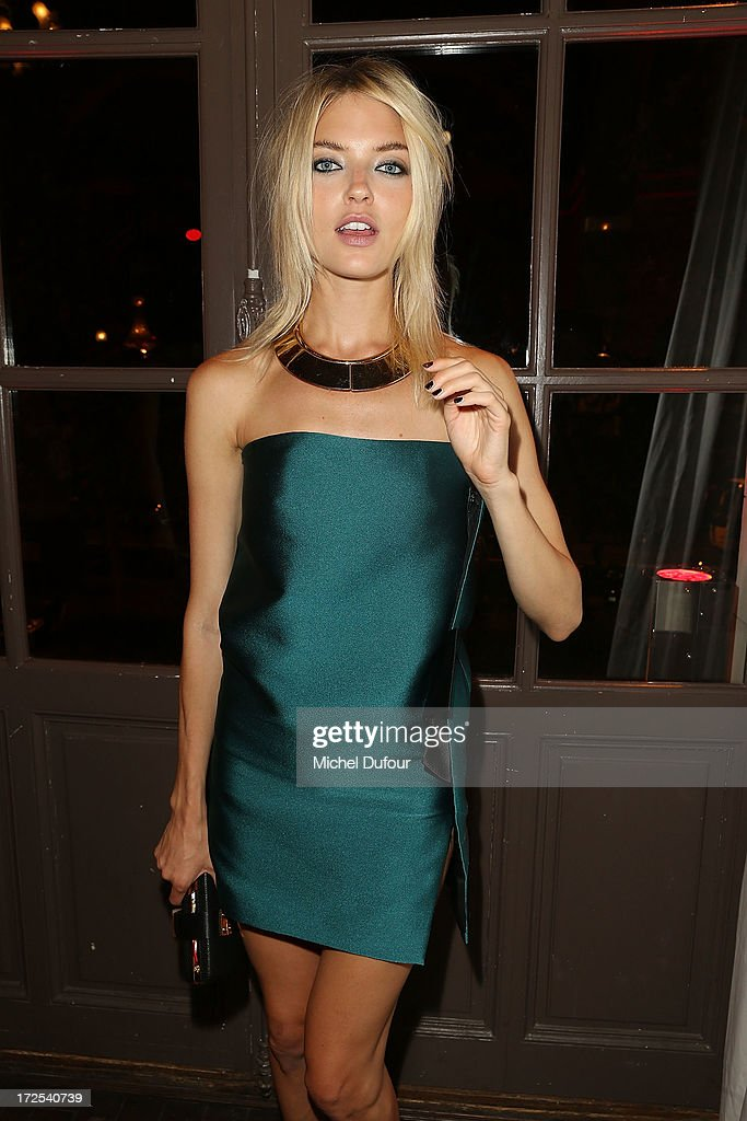 Martha Hunt attends the 'Lancome Show by Alber Elbaz' at Le Trianon on July 2, 2013 in Paris, France.
