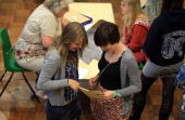 Martha Hutchingson a pupil from Hayesfield Sixth Form smiles she opens her Alevel results at Hayesfield Girls School on August 20 2009 in Bath United...