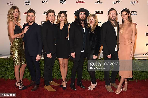 Martha Patterson Jared and Matthew Followill of Kings of Leon Johanna Bennett Nathan Followill of Kings of Leon Jessie Baylin Caleb Followill of...