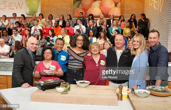 THE CHEW 5/17/16 Martha Plimpton appears on THE CHEW airing MONDAY FRIDAY on the ABC Television Network KELLY
