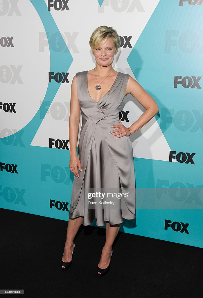 Martha Plimpton attends attends the Fox 2012 Programming Presentation Post-Show Party at Wollman Rink, Central Park on May 14, 2012 in New York City.