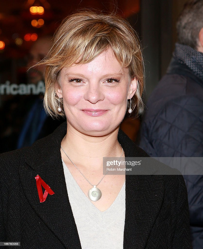 Martha Plimpton attends 'The Big Knife' Broadway opening night at American Airlines Theatre on April 16, 2013 in New York City.