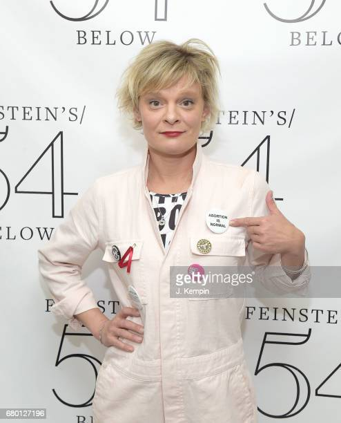 Martha Plimpton attends the Broadway Acts For Women 2017 Karaoke Event at 54 Below on May 7 2017 in New York City