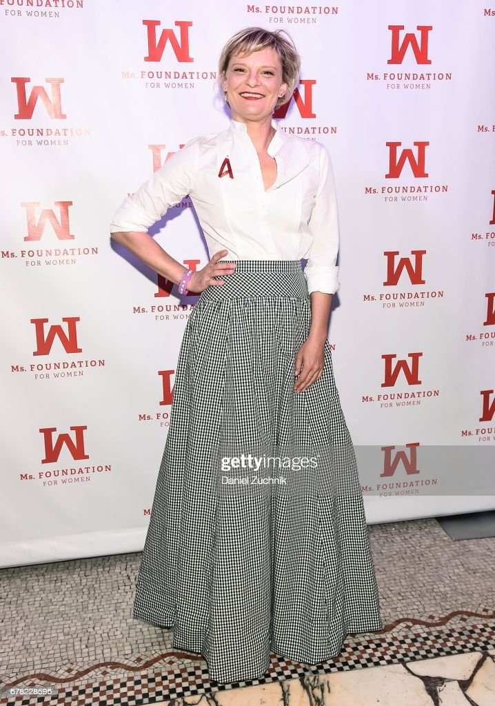 Martha Plimpton attends the Ms. Foundation for Women 2017 Gloria Awards Gala at Capitale on May 3, 2017 in New York City.