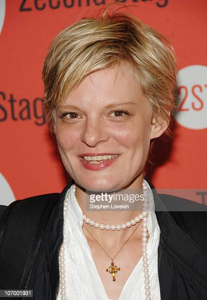Martha Plimpton during Opening Night for Second Stage Theatre's Production of Eric Bogosian's 'subUrbia' Arrivals at Second Stage Theatre in New York...