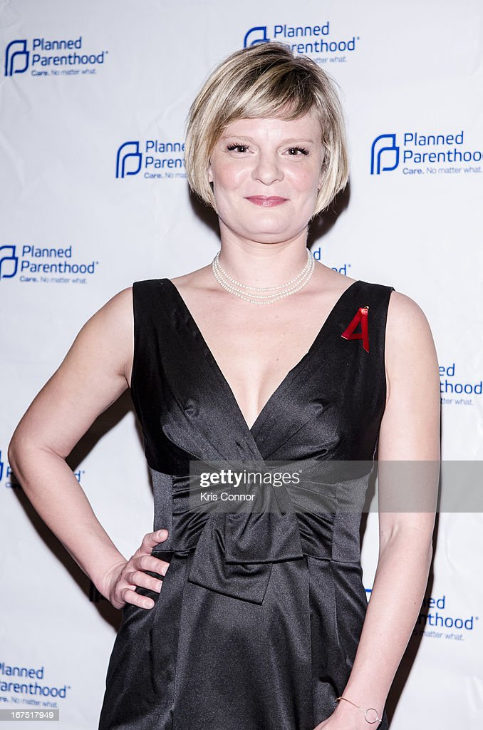 Martha Plimpton poses for a photo during the <<attends Planned Parenthood Federation of America's VIP Reception at the Marriott Wardman Park Hotel on April 25, 2013 in Washington, DC.