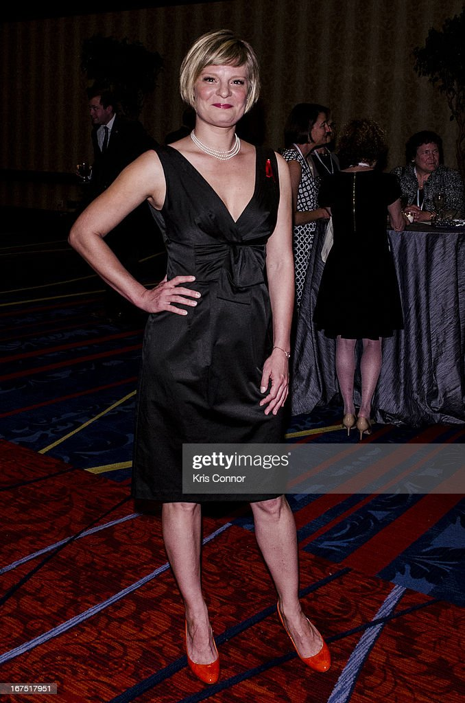 Martha Plimpton poses for a photo during the attends Planned Parenthood Federation of America's VIP Reception at the Marriott Wardman Park Hotel on April 25, 2013 in Washington, DC.