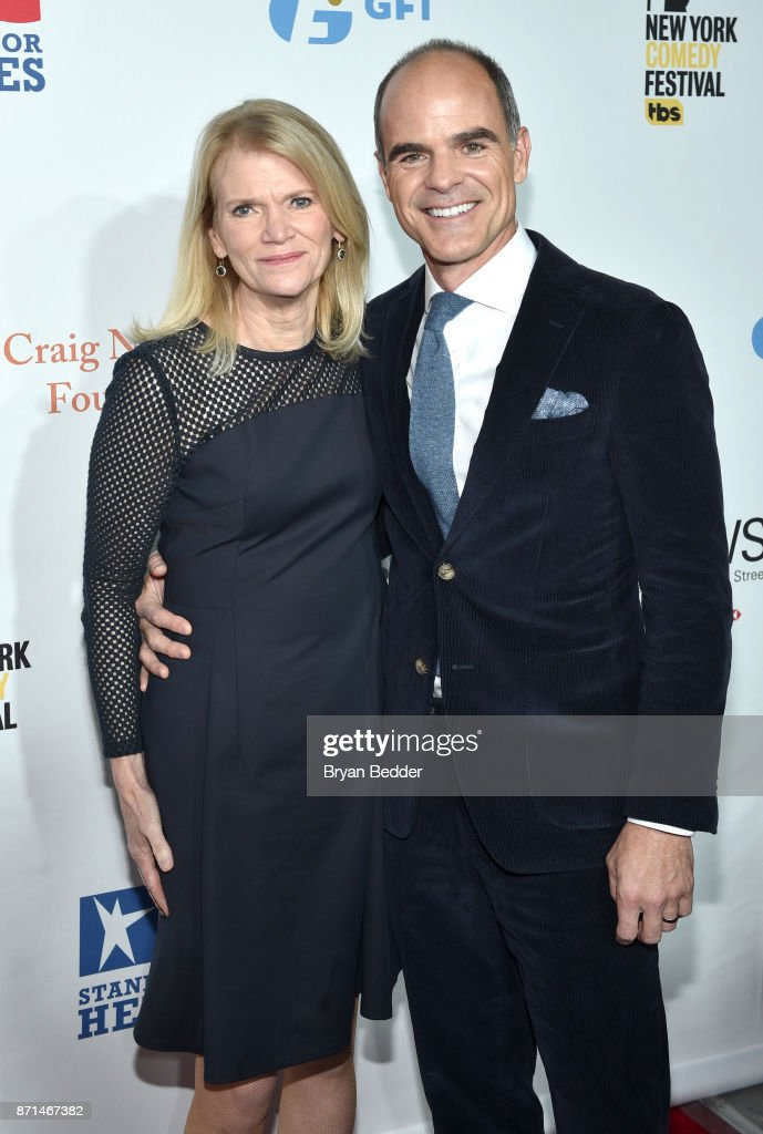 Martha Raddatz and Michael Kelly attend the 11th Annual Stand Up for Heroes Event presented by The New York Comedy Festival and The Bob Woodruff Foundation at The Theater at Madison Square Garden on November 7, 2017 in New York City.