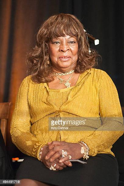 Martha Reeves attends the news conference for the The Respecting Senior Performers As Essential Cultural Treasures Act at the Rayburn House Office...