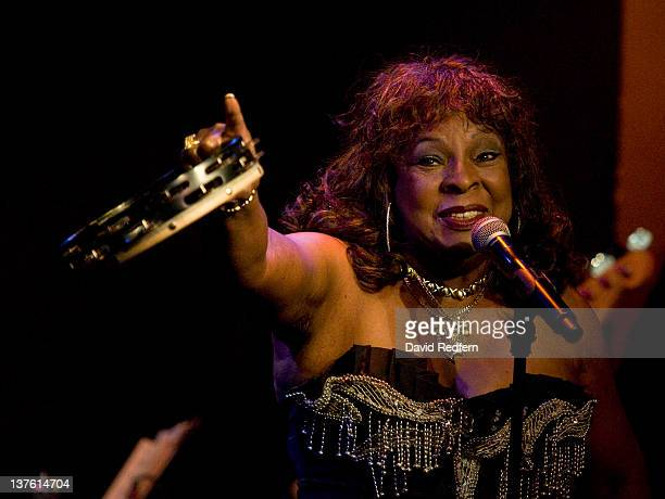 Martha Reeves performs at Ronnie Scott's Jazz Club on January 23 2012 in London United Kingdom