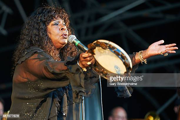 Martha Reeves performs during day 2 at Tramlines Festival 2015 on July 25 2015 in Sheffield United Kingdom