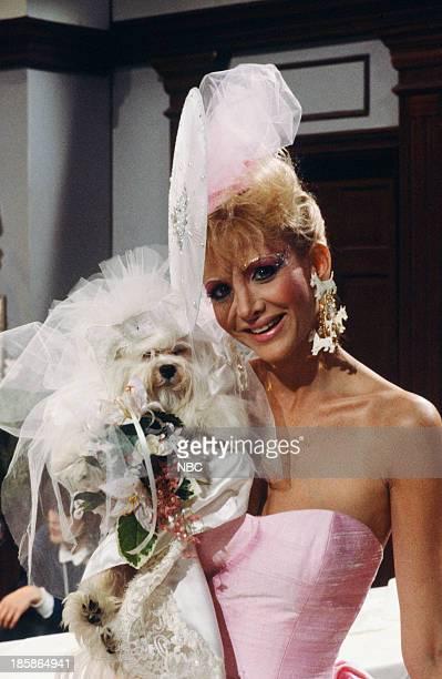 LIVES 'Martha Reggie Dog Wedding' Pictured 'Martha' the dog Arleen Sorkin as Calliope Bradford Photo by Gary Null/NBCU Photo Bank via Getty Images
