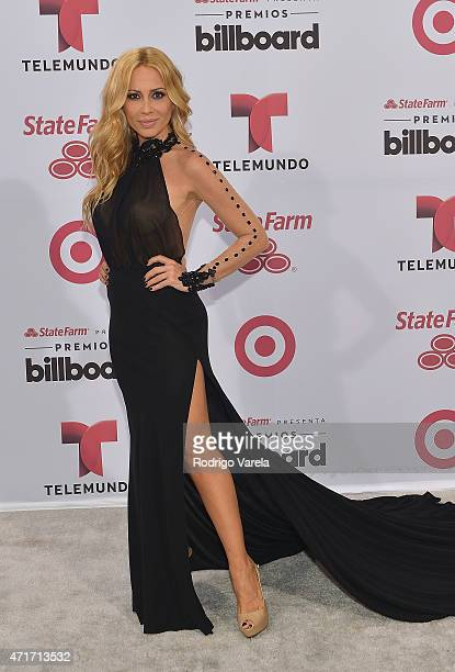 Martha Sanchez arrives at 2015 Billboard Latin Music Awards presented bu State Farm on Telemundo at Bank United Center on April 30 2015 in Miami...