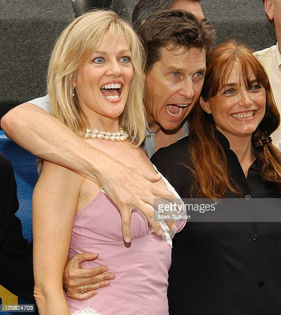 Martha Smith Tim Matheson and Karen Allen during 'Animal House' 25th Anniversary Ultimate Homecoming Parade DVD Release Celebration at Hollywood...