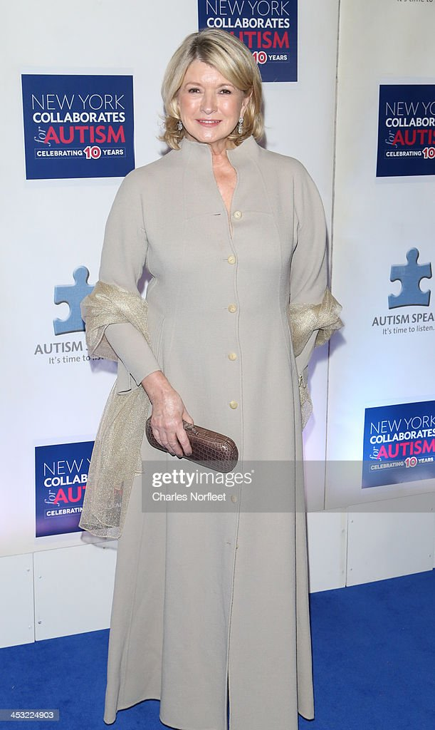 Martha Steart attends the 2013 Winter Ball For Autism at the Metropolitan Museum of Art on December 2, 2013 in New York City.