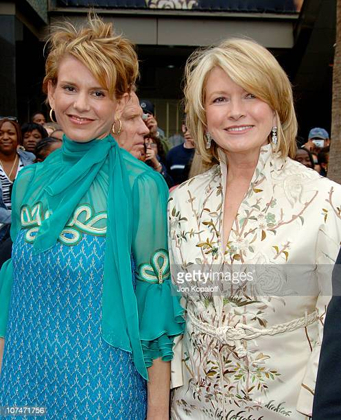 Martha Stewart and daughter during 33rd Annual Daytime Emmy Awards Arrivals at Kodak Theater in Hollywood California United States