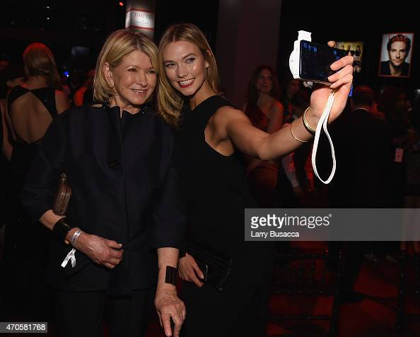 Martha Stewart and Karlie Kloss attend TIME 100 Gala TIME's 100 Most Influential People In The World on April 21 2015 in New York City