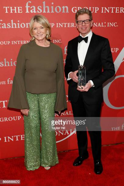 Martha Stewart and Michael George attend the 2017 Night Of Stars Gala at Cipriani Wall Street on October 26 2017 in New York City