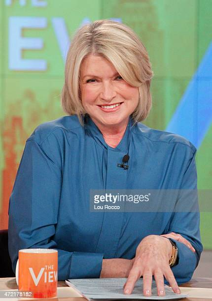 THE VIEW Martha Stewart and Raven Symone guest cohost Guests include Taya Kyle and Harry Connick Jr airing Monday May 4 2015 on ABC's 'The View' 'The...