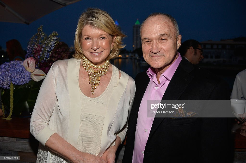 <a gi-track='captionPersonalityLinkClicked' href=/galleries/search?phrase=Martha+Stewart&family=editorial&specificpeople=202905 ng-click='$event.stopPropagation()'>Martha Stewart</a> and Ray Kelly attend <a gi-track='captionPersonalityLinkClicked' href=/galleries/search?phrase=Martha+Stewart&family=editorial&specificpeople=202905 ng-click='$event.stopPropagation()'>Martha Stewart</a> Celebrates South Beach Wine And Food Festival With DuJour Magazine's Jason Binn And Lee Brian Schrager At The Ritz-Carlton Miami Beach Residences on February 21, 2014 in Miami Beach, Florida.