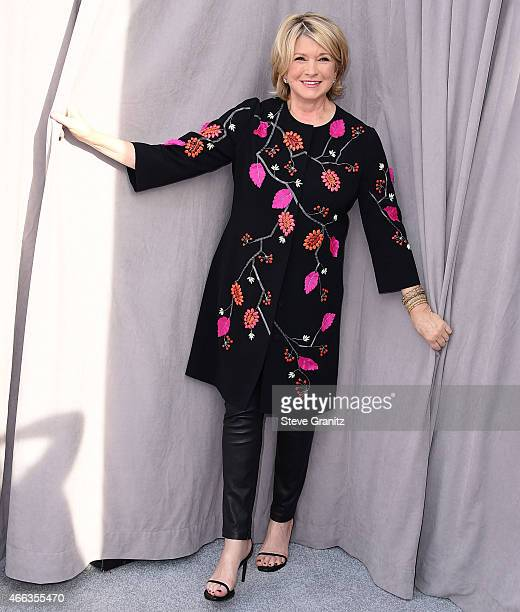 Martha Stewart arrives at the Comedy Central Roast Of Justin Bieber on March 14 2015 in Los Angeles California