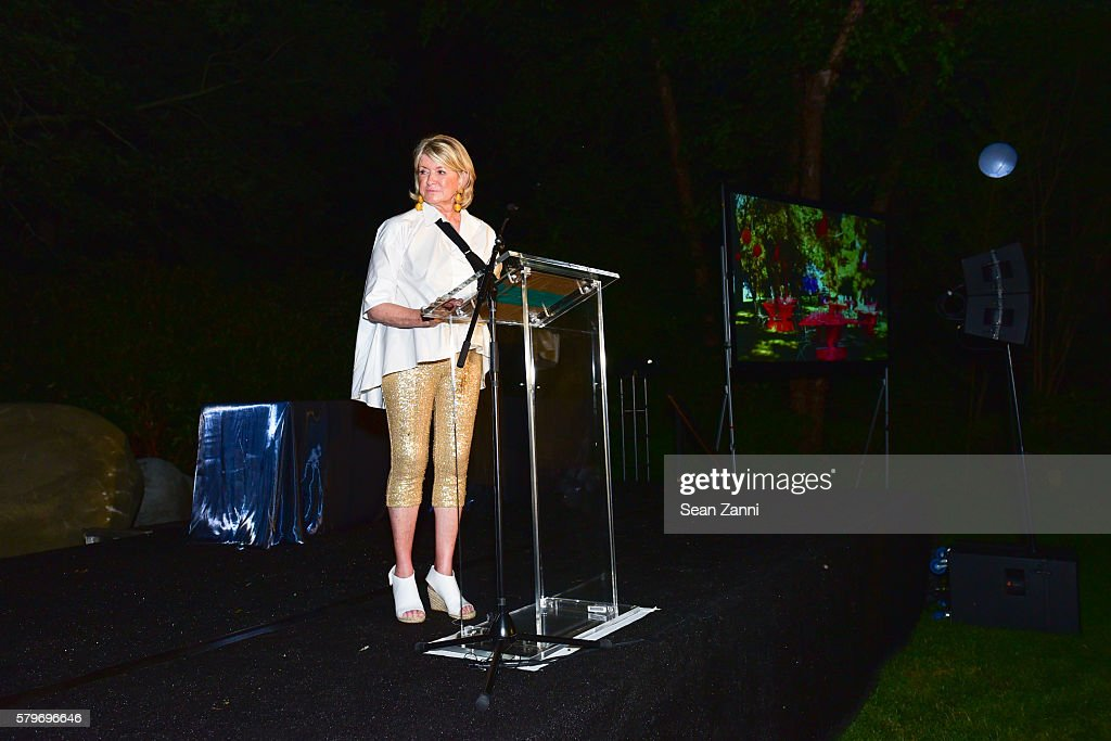 Martha Stewart at LongHouse Reserve 2016 Jubilee Year Summer Benefit, Serious Moonlight at LongHouse Reserve on July 23, 2016 in East Hampton, NY.