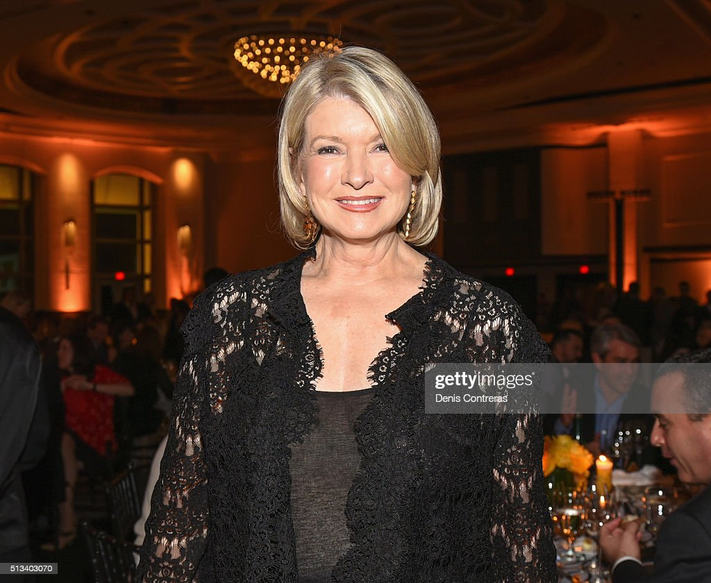 <a gi-track='captionPersonalityLinkClicked' href=/galleries/search?phrase=Martha+Stewart&family=editorial&specificpeople=202905 ng-click='$event.stopPropagation()'>Martha Stewart</a> attends a Tribute Dinner Honoring Jonathan Waxman, Rob Sands and Richard Sands With Master Of Ceremonies Tom Colicchio Presented By Bank of America during 2016 Food Network & Cooking Channel South Beach Wine & Food Festival Presented By FOOD & WINE at Loews Miami Beach Hotel on February 27, 2016 in Miami Beach, Florida.