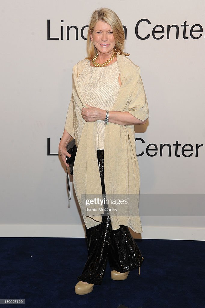 Martha Stewart attends an evening with Ralph Lauren hosted by Oprah Winfrey and presented at Lincoln Center on October 24 2011 in New York City