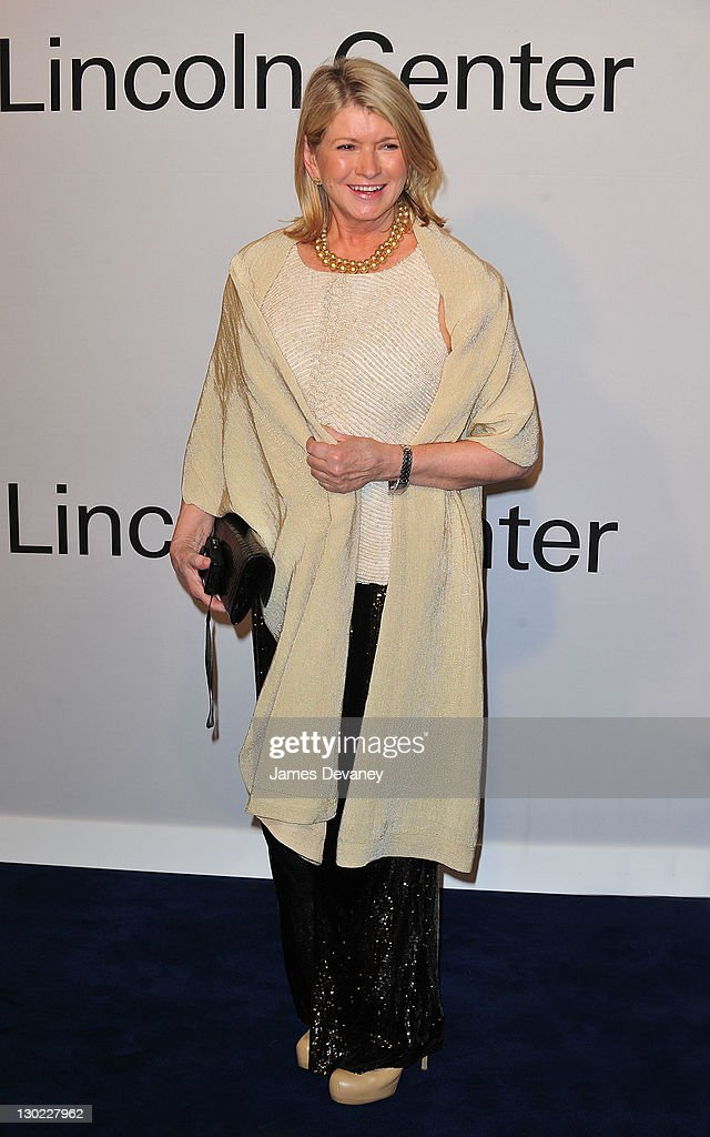 Martha Stewart attends an Evening with Ralph Lauren hosted by Oprah Winfrey at Alice Tully Hall Lincoln Center on October 24 2011 in New York City