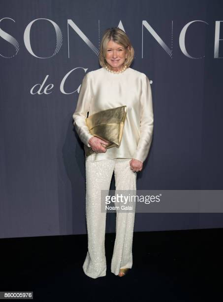 Martha Stewart attends Cartier's celebration of Resonances de Cartier on October 10 2017 in New York City