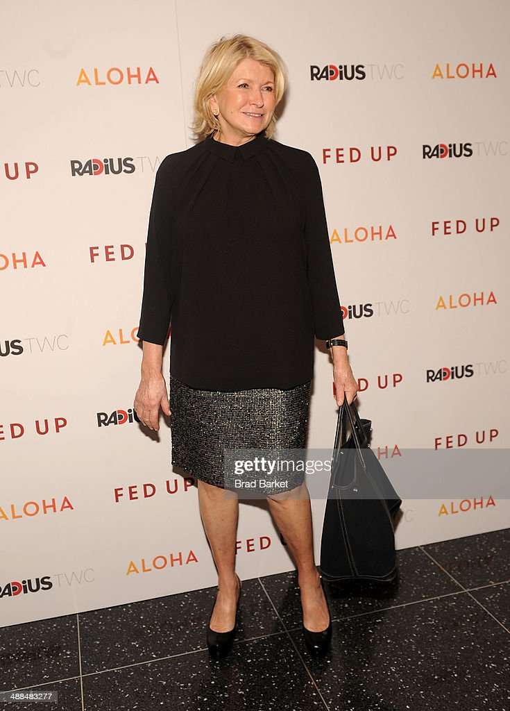 <a gi-track='captionPersonalityLinkClicked' href=/galleries/search?phrase=Martha+Stewart&family=editorial&specificpeople=202905 ng-click='$event.stopPropagation()'>Martha Stewart</a> attends 'Fed Up' premiere at Museum of Modern Art on May 6, 2014 in New York City.