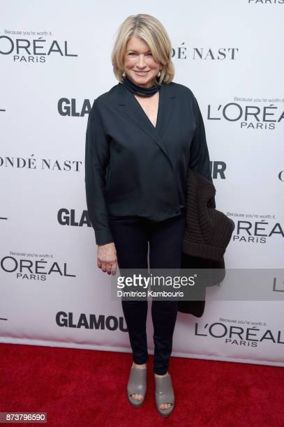 Martha Stewart attends Glamour's 2017 Women of The Year Awards at Kings Theatre on November 13 2017 in Brooklyn New York