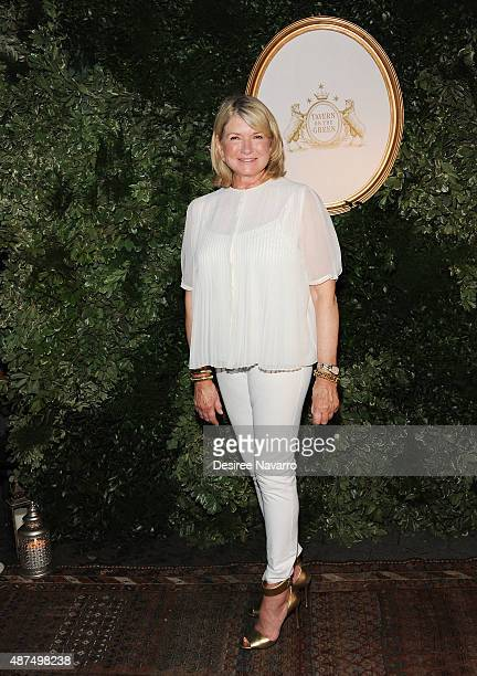 Martha Stewart attends Jessica Simpson Collection Presentation Spring 2016 New York Fashion Week on September 9 2015 in New York City