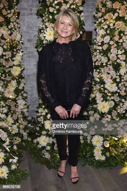 Martha Stewart attends John Hardy And Vanity Fair Celebrate Legends at Le Coucou on October 24 2017 in New York City